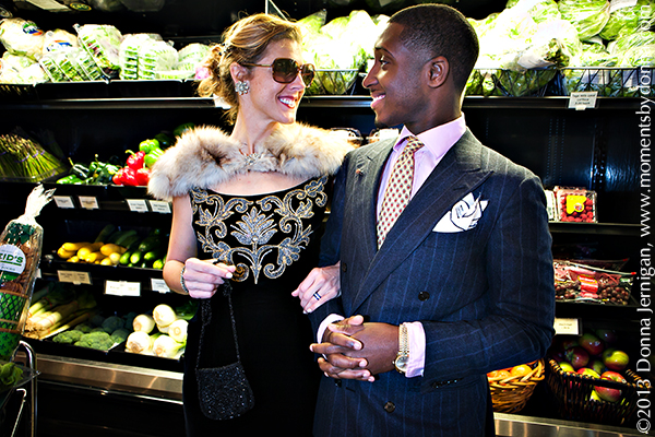 Reid's Fine Foods, Jason Locust, Ralph Lauren, Vintage Dress and Fur, J. Crew Pumps, the Queen City Style, Jewelmint hair comb, Moments by Donna, Donna Jernigan