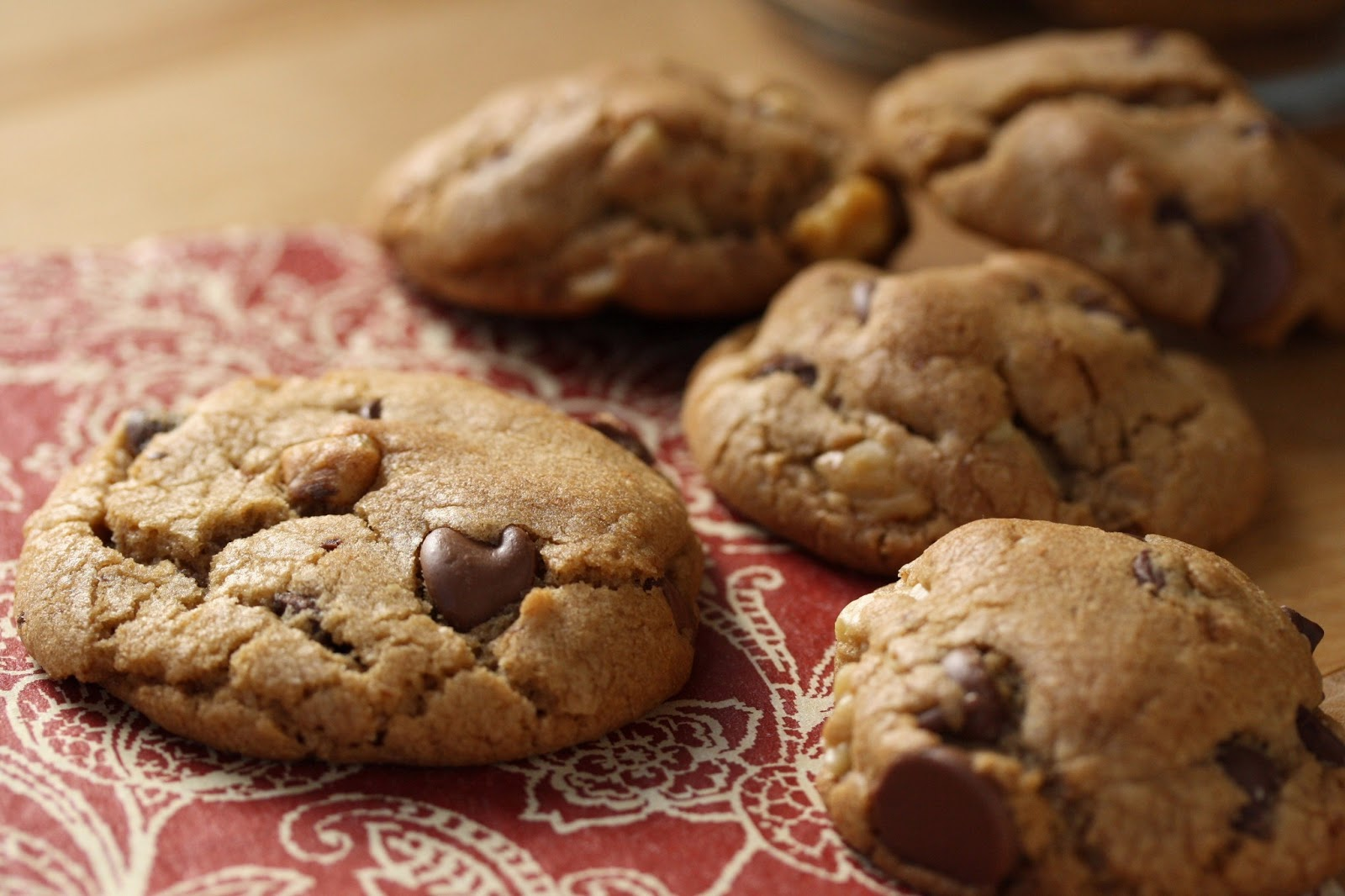 Browned Butter Chocolate Chip Cookies - Saving Room for ...