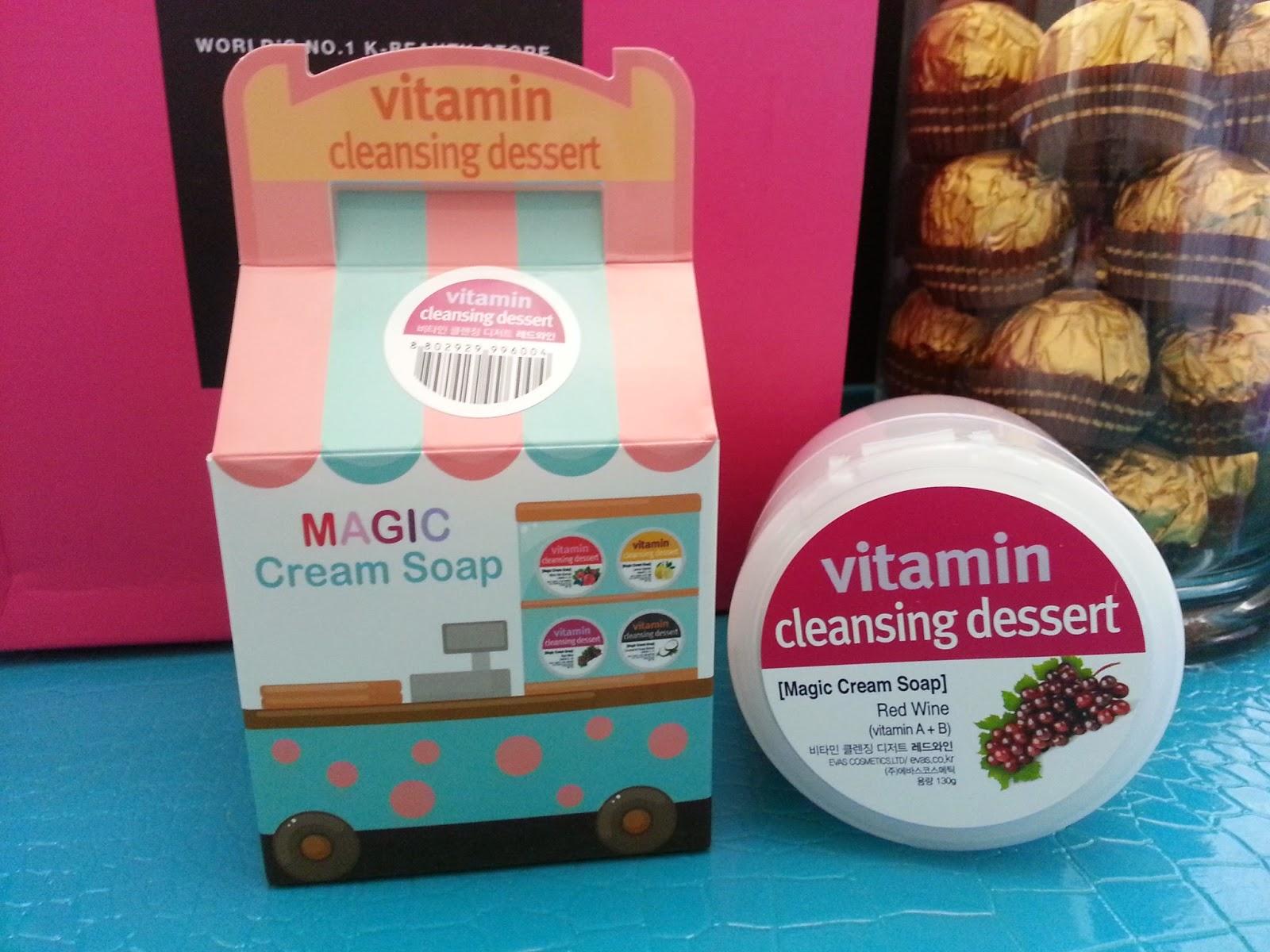 Evas Cosmetics Vitamin Cleansing Dessert