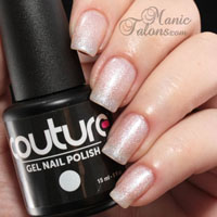 Couture Gel Polish French Affair Swatch