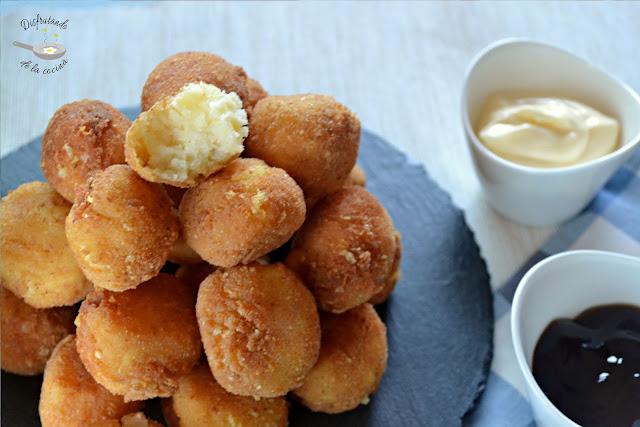 Bolitas de patata y queso