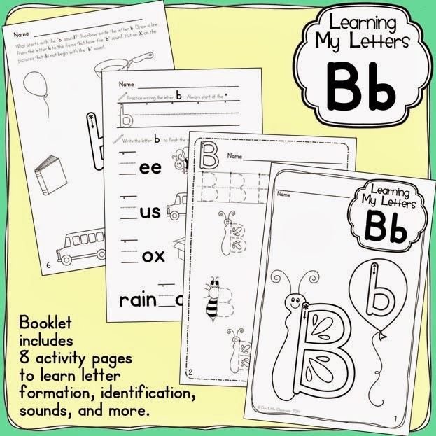 http://www.teacherspayteachers.com/Product/Learning-My-Letters-Bb-1128416