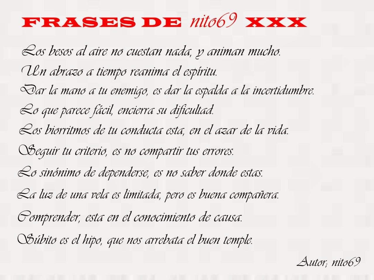 FRASES DE nito69 XXX