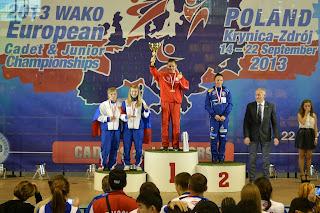 Kinga Szlachcic, kickboxing, treningi, sporty walki, Zielona Góra