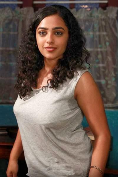 Tamil hot actress Nithya Menon Photos