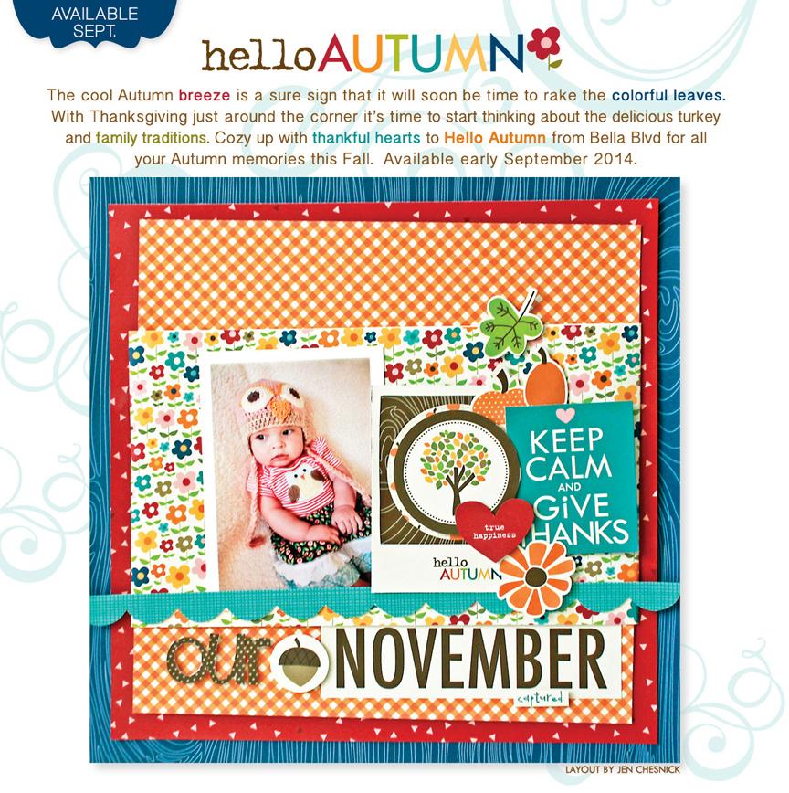 Summer Release  Bella Blvd  Hello Autumn