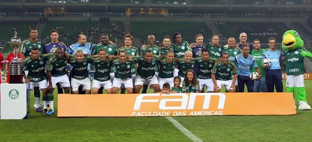 Palmeiras de 1999 vence jogo festivo no Allianz Parque e Alex se despede do Verdão