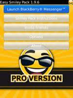 Easy Smiley Pack Pro 2.3.10 for Blackberry