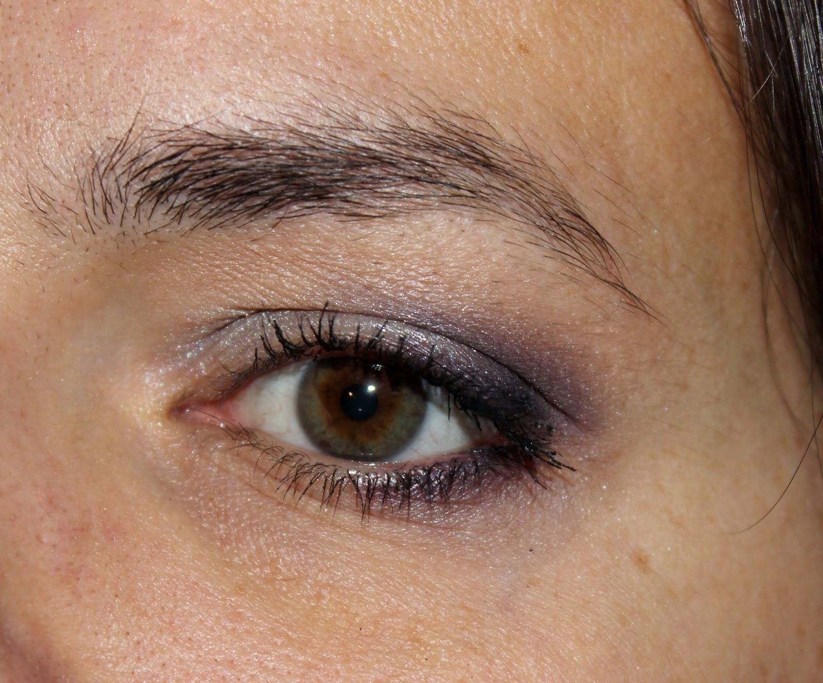 bareMinerals violet et argenté
