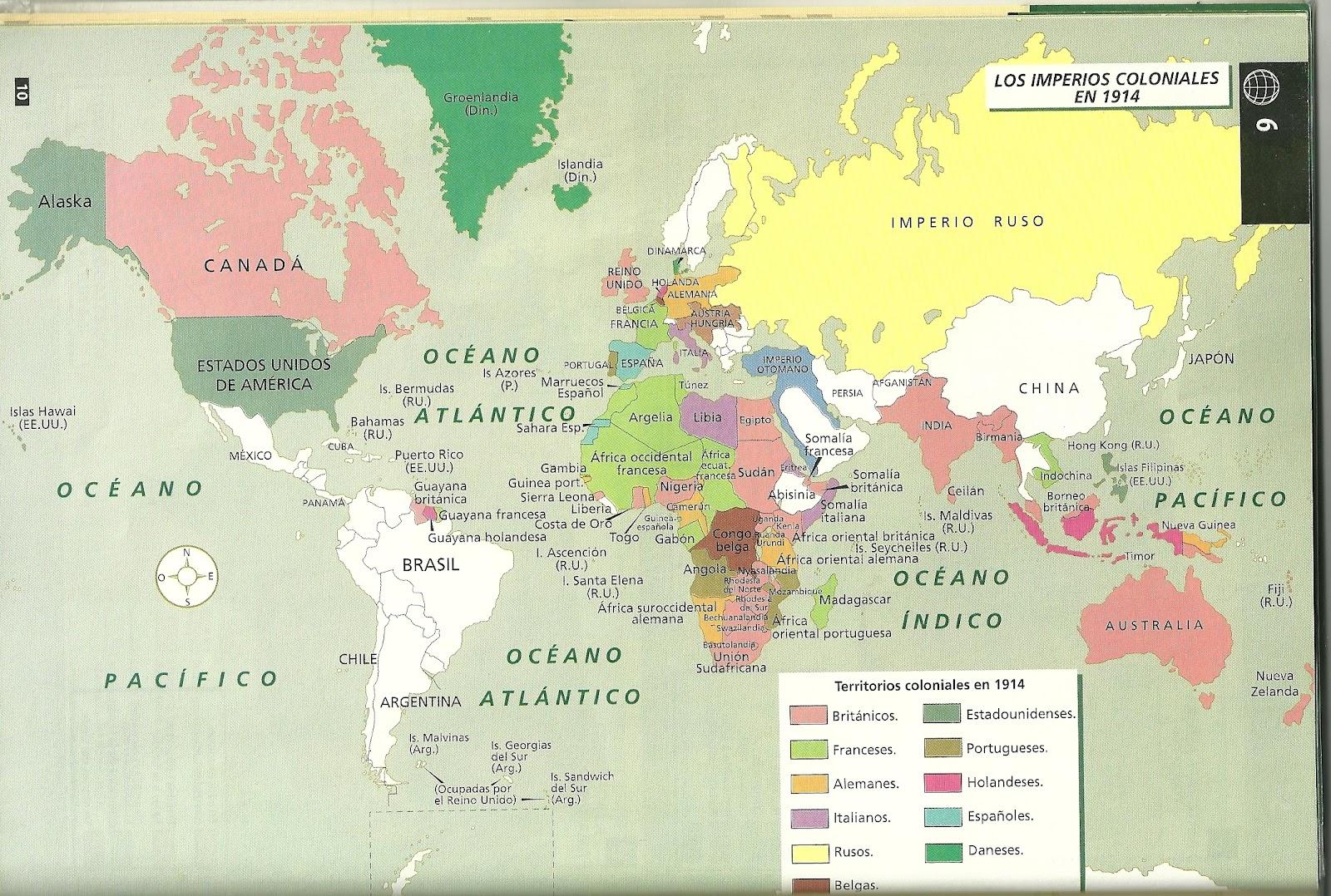 Expansin europea en Asia y Africa en el siglo XIX  Imperialismo