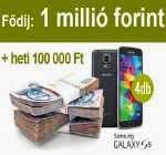 1 millió forint nyeremény