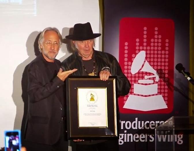 Neil Young erhält GRAMMY-Ehrung