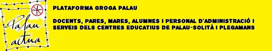 Plataforma groga Palau