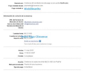 Pago ClixSense