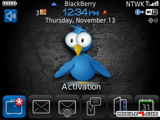 Tema BlackBerry 8520 Twitter Download Tema BlackBerry 8520 Gratis 2012