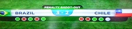 resultado final penales de brasil vs chile