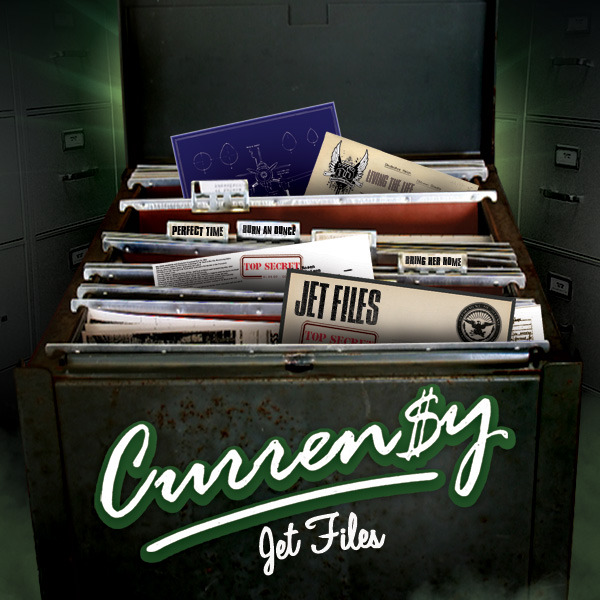 Curren$y - Jet Files  Cover