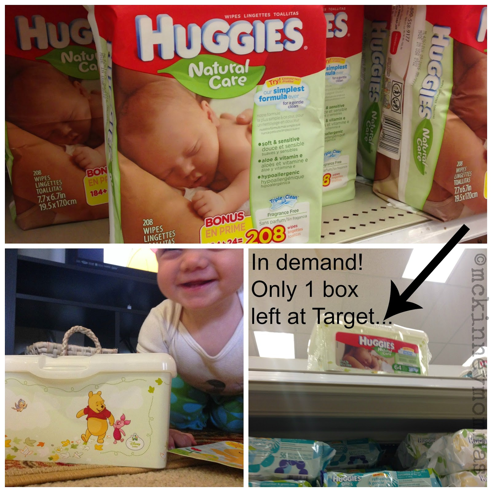 Huggies, Target, Natural Care Wipes