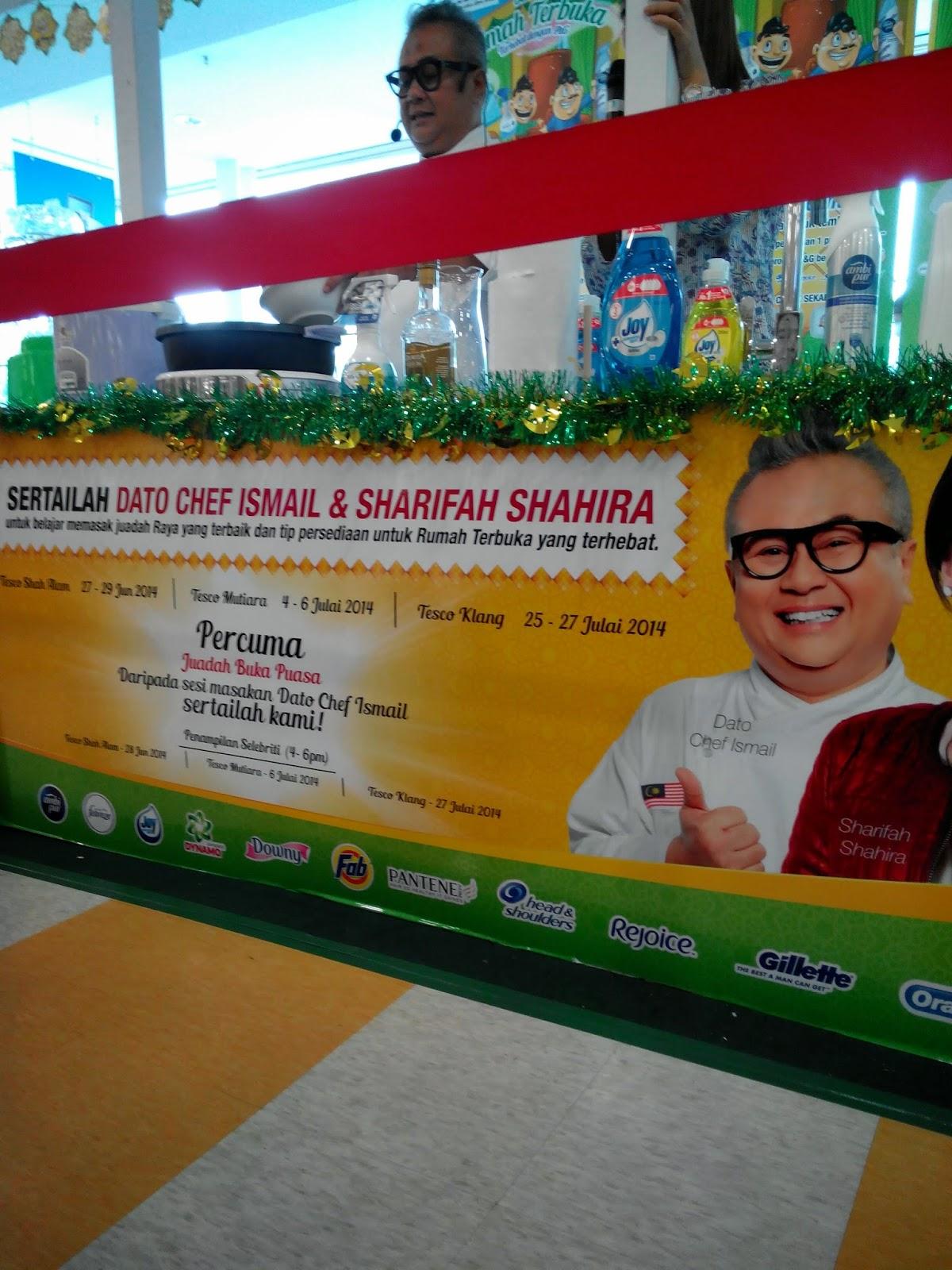 Berbuka Puasa Bersama Chef Ismail dan Sharifah Shahira