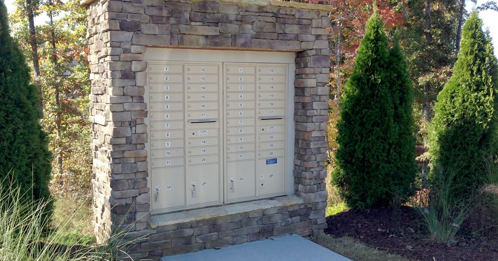 Mailbox Types Of Shelters : Centralized mail delivery cluster boxes