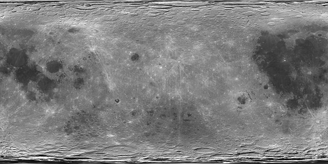 View topic - My favorite Moon texture: Chang'e 2 remapped, colored ...