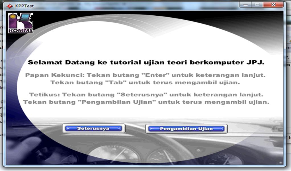 Download Aplikasi Ujian Teori Berkomputer Jpj Kpp Test New Version Ujian Kpp 2017 April Software Download