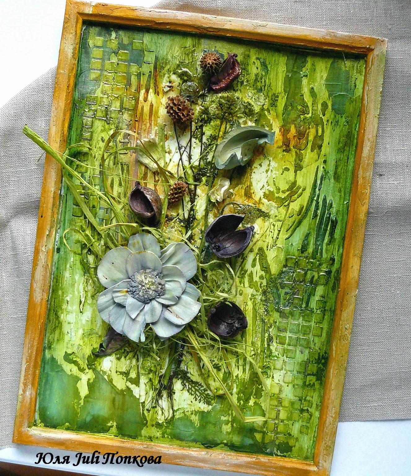 Изделия из сухоцветов своими руками 52