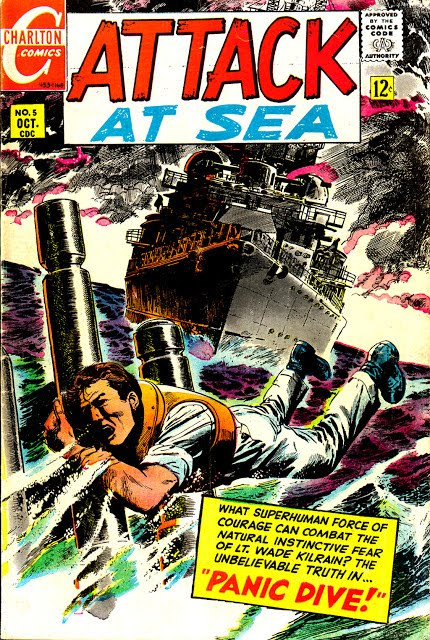 Attack at Sea #5 - 1968 one shot (Charlton)