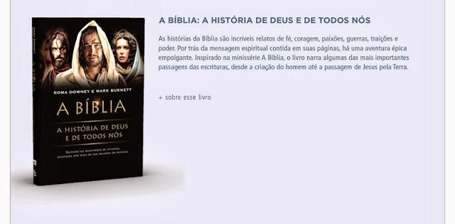 A bíblia: a história de deus e de todos nós