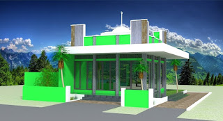 3 Dimensi Annur (Little mosque in Ngawi)