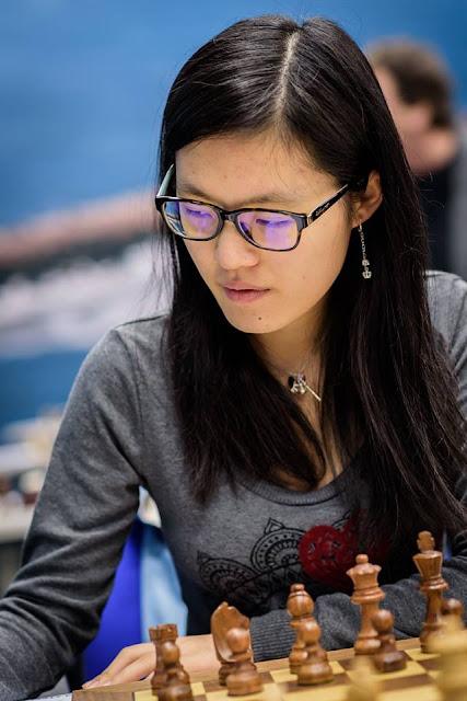 Hou Yifan en el Tata Steel Chess 2016