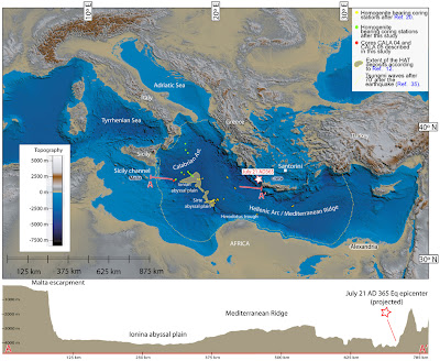 Mediterranean Sediments Tell Of Tsunami In 365 A D The