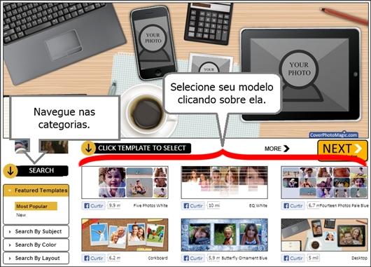 aplicativo capas online