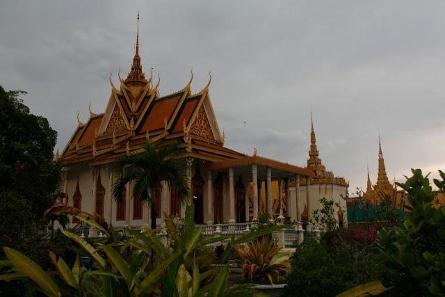 Palacio real en Phom Phen.
