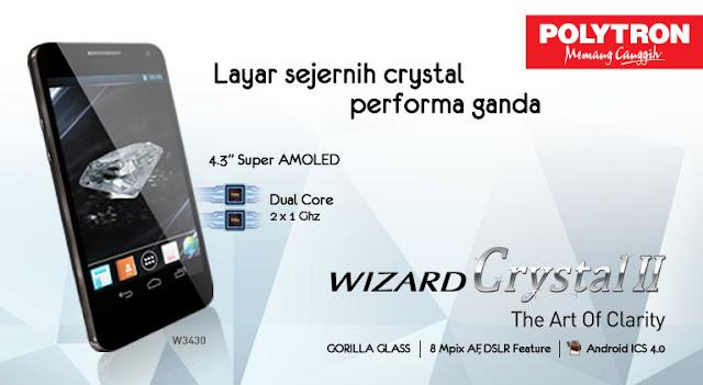 Polytron Wizard Crystal II W3430