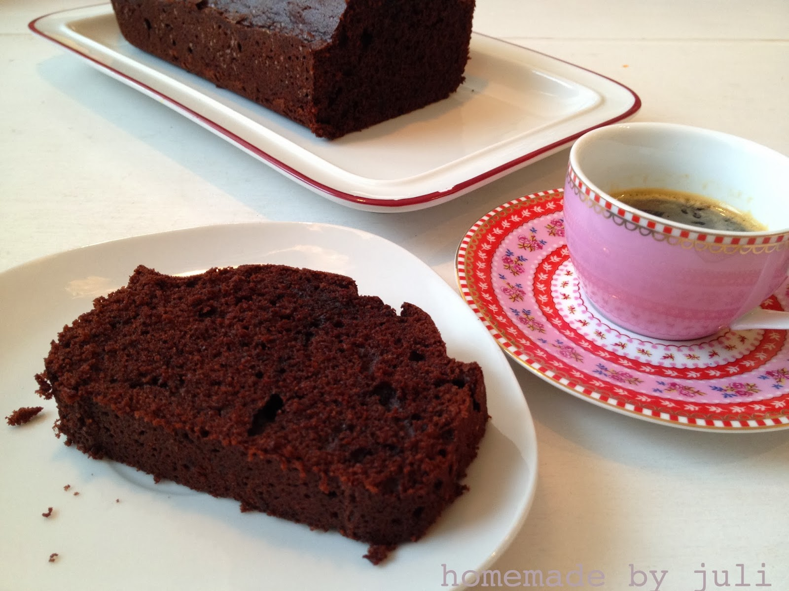 homemade by juli chocolate espresso cake. Black Bedroom Furniture Sets. Home Design Ideas