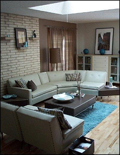 Decorating Theme Bedrooms Maries Manor Retro Mod Style Decorating Ideas
