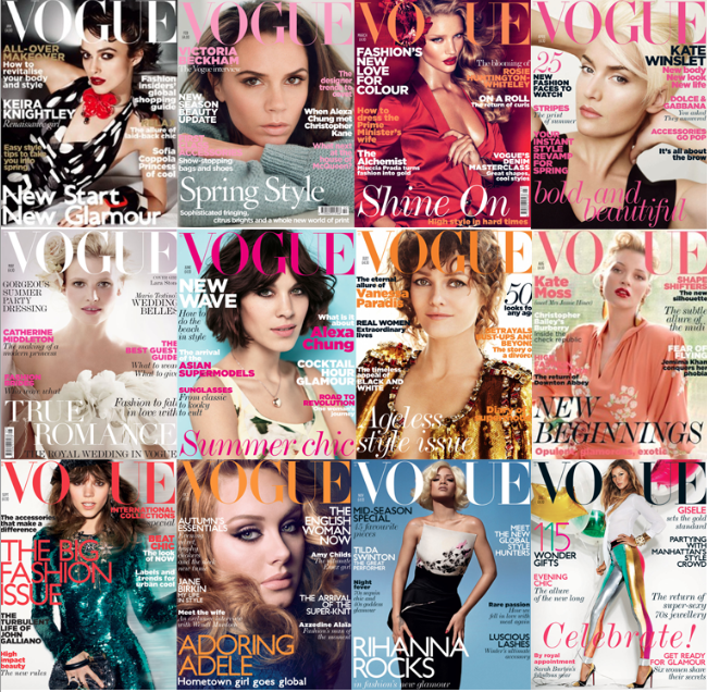 Vogue covers 2011