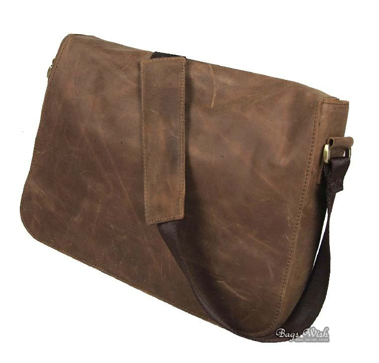 Leather Messenger Bag For Men. A leather messenger bag for men is a great way for a man to transport those important items he needs for work. Keeping his work items separate from his home life helps a man to stay organized as well as keep his work from spilling over into his home environment.