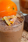 Orange Chocolate Cream Cheese Mousse