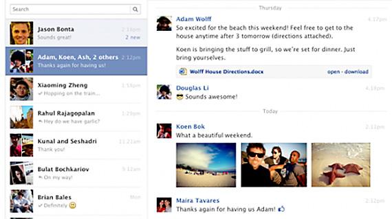 Utilizatorii Facebook vor putea folosi scurtaturi din tastatura pentru a naviga mai usor in mesaje