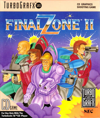 Final Zone II (Turbo CD, 1990)