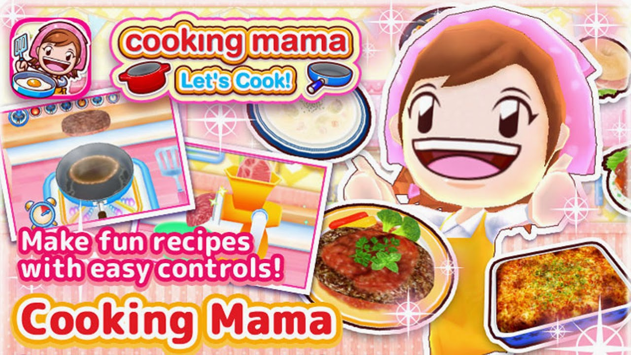 COOKING MAMA Let's Cook Gameplay IOS / Android