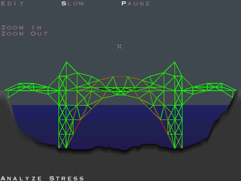 Bridge Building Game Nivau