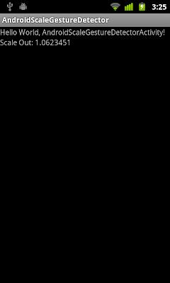 ScaleGestureDetector