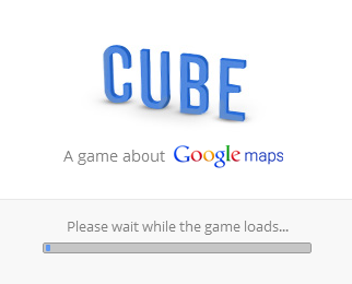 Google launched Cube, play a Cubic Google Maps!