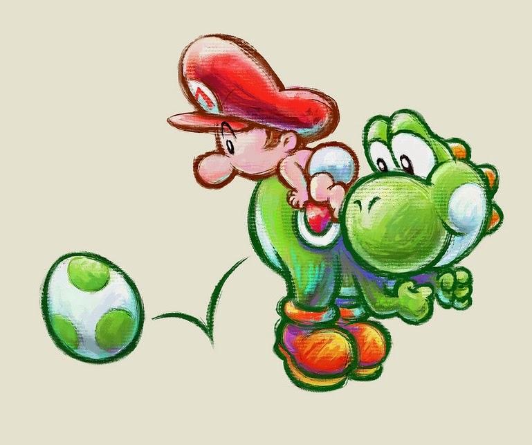 Yoshi 3DS Platformer Game