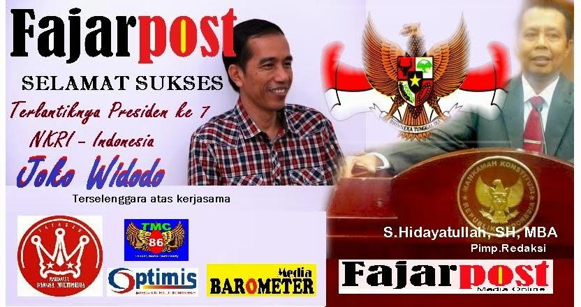 Menyambut Presiden ke 7 Indonesia