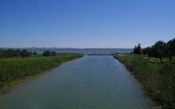 Garganistan Gargano Laguna di Lesina Canale Schiapparo