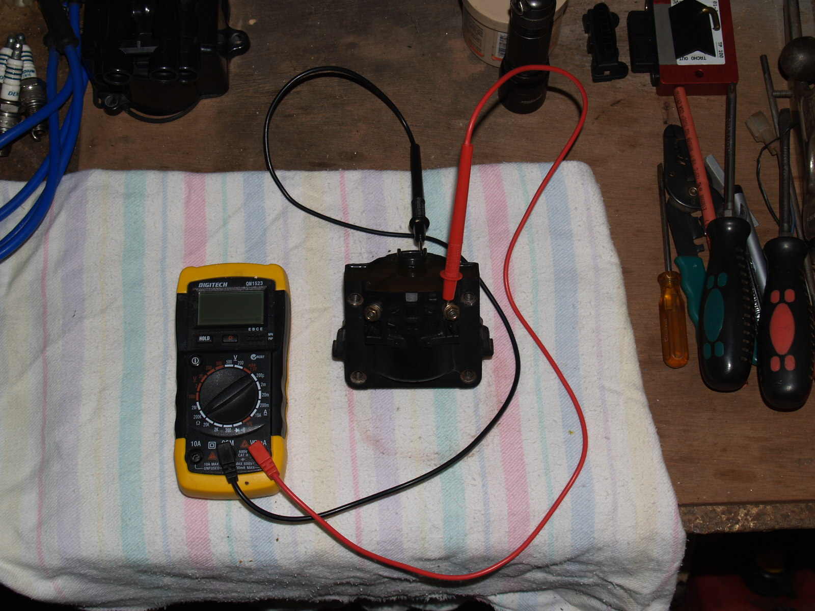 Efi Conversion Toyota 4y Supercharged Rebuild Dicktator Ecu Wiring Diagram Old Coil Secondary Reading Blank